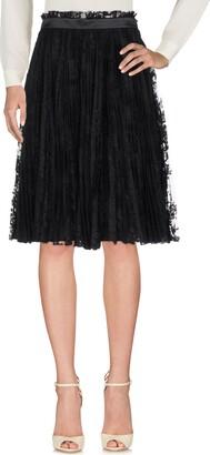 Alexander McQueen Knee length skirts - Item 35371427