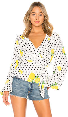 Lovers + Friends Mikayla Blouse