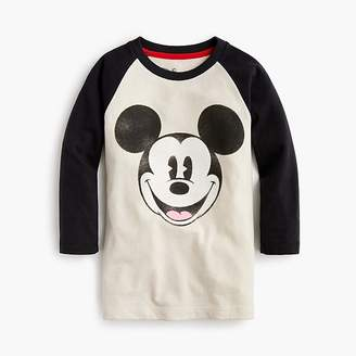 J.Crew Kids' Disney® for crewcuts Mickey Mouse baseball T-shirt