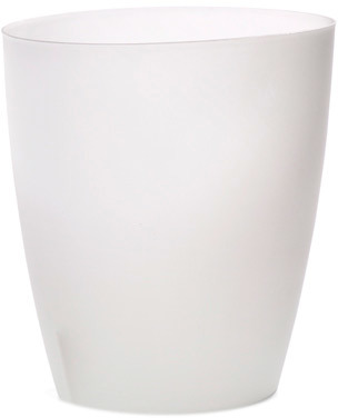 Container Store Oval Vanity Can Translucent