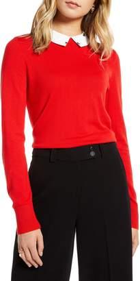 1901 Detachable Collar Sweater