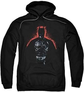 Trevco Men's Batman Dark Knight Rises Hoodie Sweatshirt