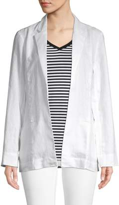 Saks Fifth Avenue Linen Blazer