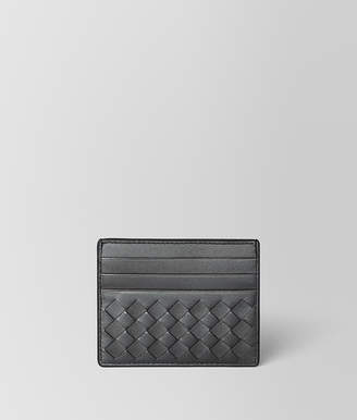 Bottega Veneta ANTIQUE SILVER INTRECCIATO NAPPA CARD CASE