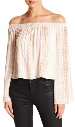 The Jetset Diaries TJD Halcyon Off-the-Shoulder Top