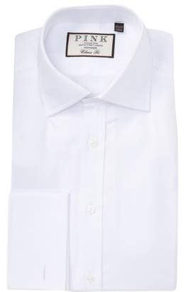 Thomas Pink Arthur Twill Classic Fit Dress Shirt