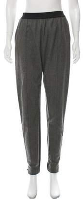 Celine Wool High-Rise Skinny Pants