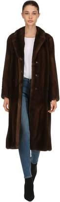 Blancha Mink Fur Long Coat