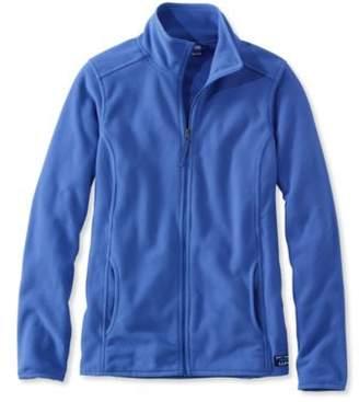 L.L. Bean L.L.Bean Soft-Brushed Full-Zip Fitness Fleece Jacket