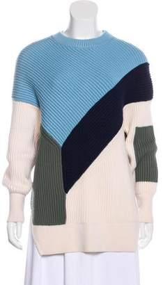 Prabal Gurung Colorblock Crew Neck Sweater