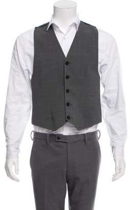 Acne Studios Crepe Wool Vest