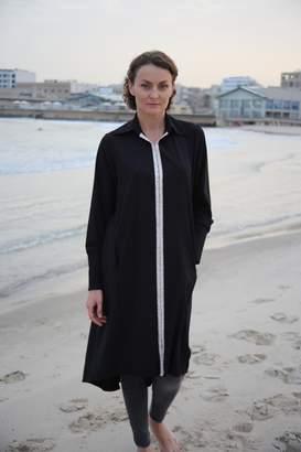 Mors Black Oversize Tunic