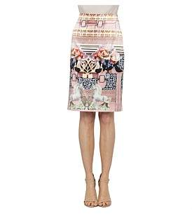 Mary Katrantzou Silk Pencil Skirt