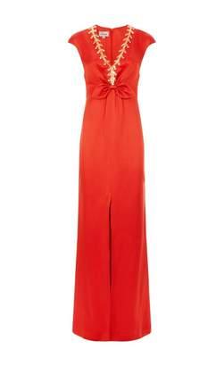 Temperley London Nile Tie Gown