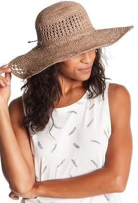 SAN DIEGO HAT Raffia Large Sun Brim Hat