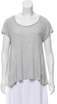 Blank NYC Lightweight Knit Short Sleeve Top