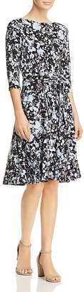 Leota Ilana Splatter Print Dress