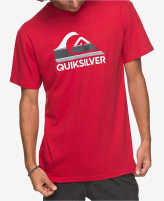 Quiksilver Men's Waves Ahead Logo-Print T-Shirt