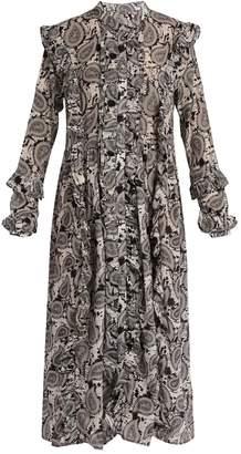 DODO BAR OR Iggy paisley-print silk midi dress