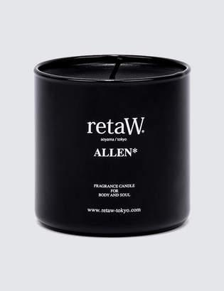 retaW Allen Fragrance Candle