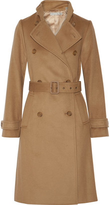Vince - Wool And Cashmere-blend Trench Coat - Camel $695 thestylecure.com