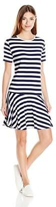 Bench Women's Jersey Tee Striped Dress