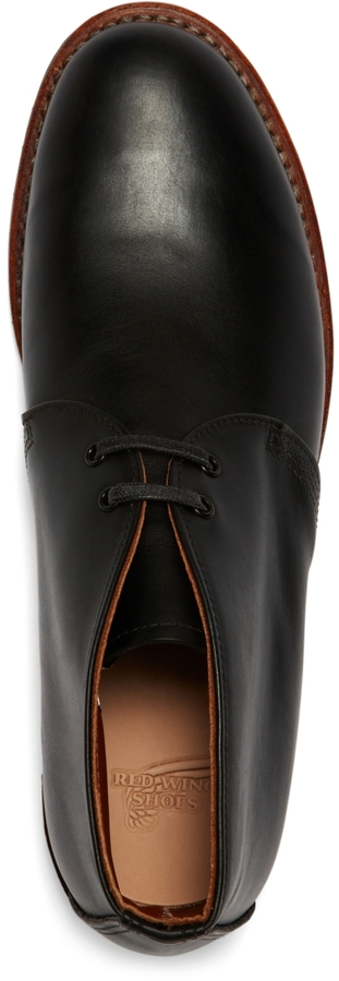 Red Wing Shoes 9024 Black Featherstone