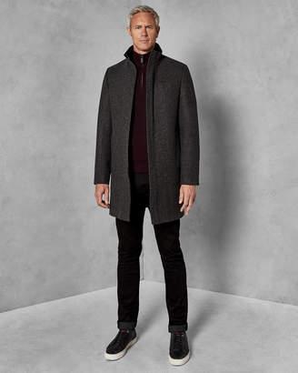 Ted Baker CHEAGTT Funnel neck coat