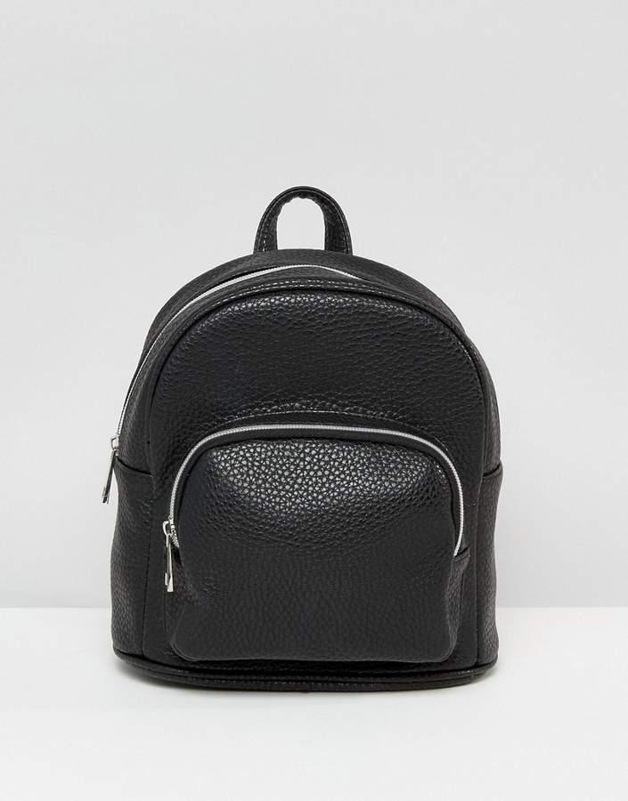 – Mini-Rucksack mit Tasche vorne