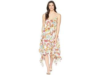 Bleu Rod Beattie Rayon Handkerchief-Hem Dress Cover-Up Women's Swimwear