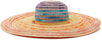 Missoni Mare Multicolored Wide-Brimmed Sun Hat