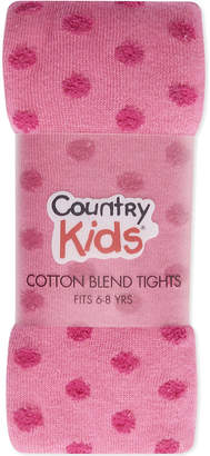 Country Kids Fluffy dot tights 6-8 years