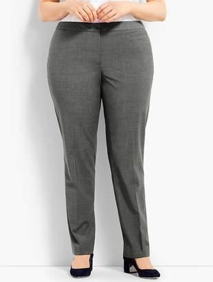 Talbots Womans Exclusive Seasonless Wool Straight Leg Trouser
