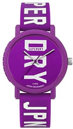Superdry Women's Quartz Plastic and Silicone Casual Watch