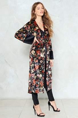 Nasty Gal Be Fur Real Faux Fur Kimono
