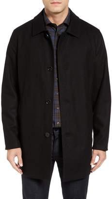 Cole Haan Signature Reversible Wool Blend Overcoat