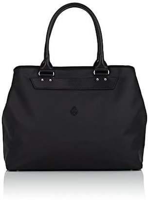 Cledran Men's Leather-Trimmed Tote Bag - Black
