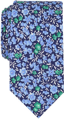 Bar III Men's Horan Floral Skinny Tie, Created for Macy's