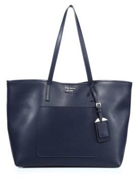 Prada City Leather Tote $1,390 thestylecure.com