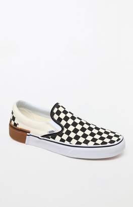 Vans Gum Block Checkerboard Slip-On Shoes