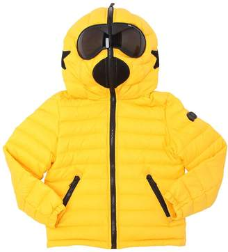 AI Riders On The Storm Hooded Nylon Down Jacket