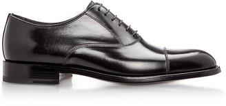 Moreschi New York Black M Calfskin Oxford Shoes