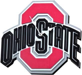 NCAA Kohl's Ohio State Buckeyes 3D Foam Wall Clock