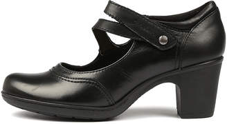 Planet Base Black Shoes Womens Shoes Comfort Heeled Shoes