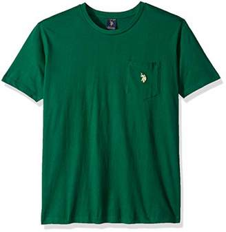 U.S. Polo Assn. Men's Crew Neck Pocket T-Shirt