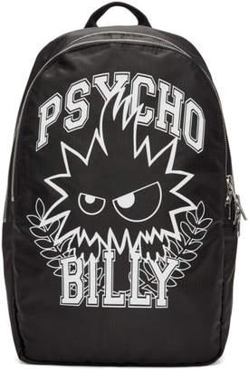 McQ Black Psycho Billy Backpack
