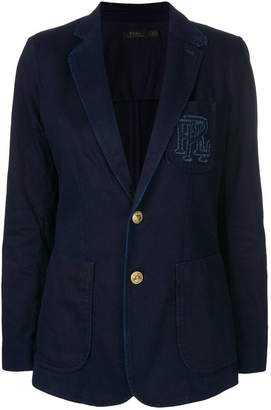 Polo Ralph Lauren slim-fit denim blazer