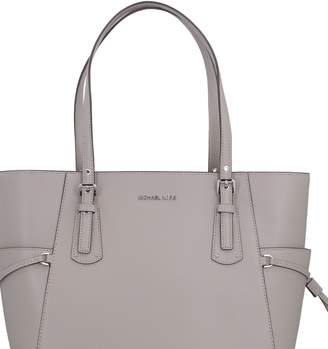 664ffa41298bb6 Grey Leather Tote Bag - ShopStyle UK