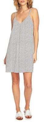 1 STATE 1.STATE Polka-Dot Slip Dress