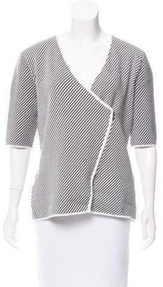 Armani Collezioni Stripe Knit Cardigan w/ Tags